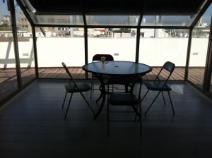 משרד מדהים עם מרפסת צמודה